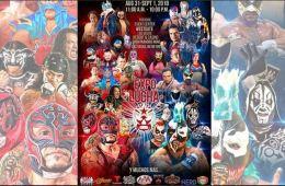 Expo Lucha Masked Republic Estrellas de Lucha Underground y Triple A en Expo Lucha en las Vegas