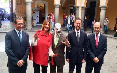 Exposición 100 años Santo el Enmascarado de Plata en Puebla