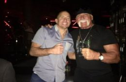WWE Noticias: Hulk Hogan se deja ver con David Guetta y Georges St-Pierre