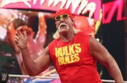 Hulk Hogan llega a Arabia Saudita para WWE Crown Jewel