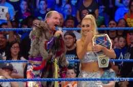James Ellsworth no respetó a Asuka en SmackDown