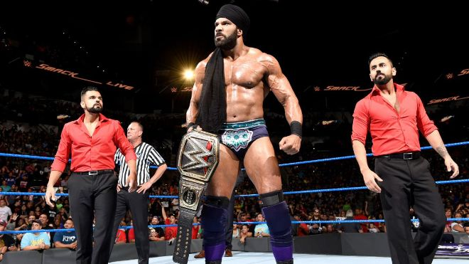 Jinder Battleground