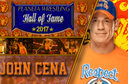 John Cena Planeta Wrestling Hall of Fame