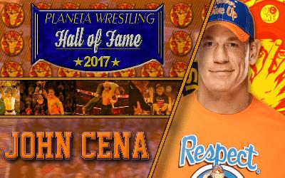 John Cena Planeta Wrestling Hall of Fame