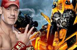John Cena anuncia el nuevo póster de su película Bumblebee