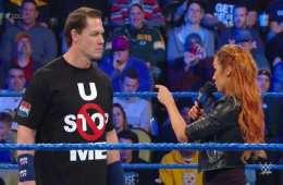 John Cena regresa a Smackdown y se encuentra con The Man