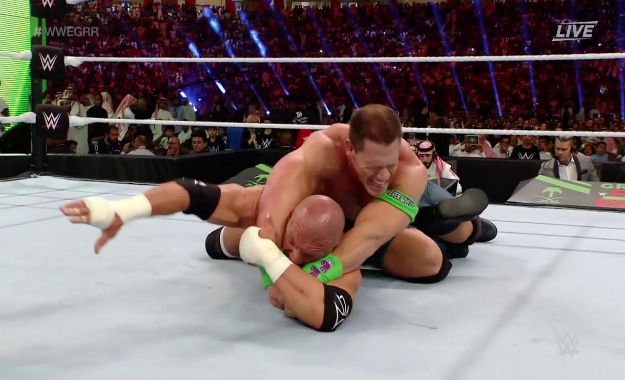 John Cena vence a Triple H en Greatest Royal Rumble