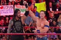 John Cena vs. Roman Reigns WWE No Mercy 2017