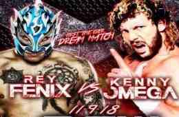 Kenny Omega se enfrentará a Fenix en un Dream match