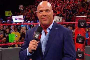 Kurt Angle habla sobre Ronda Rousey