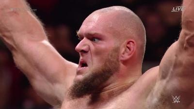 Lars Sullivan NXT TakeOver WarGames