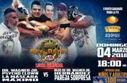 Lucha Semifinal Rey de Reyes