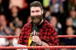 Mick Foley el día de Wrestlemania 34
