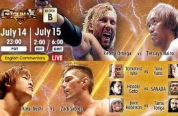 NJPW G1 Climax 28 día 2
