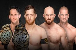 NXT Takeover Chicago tag team match