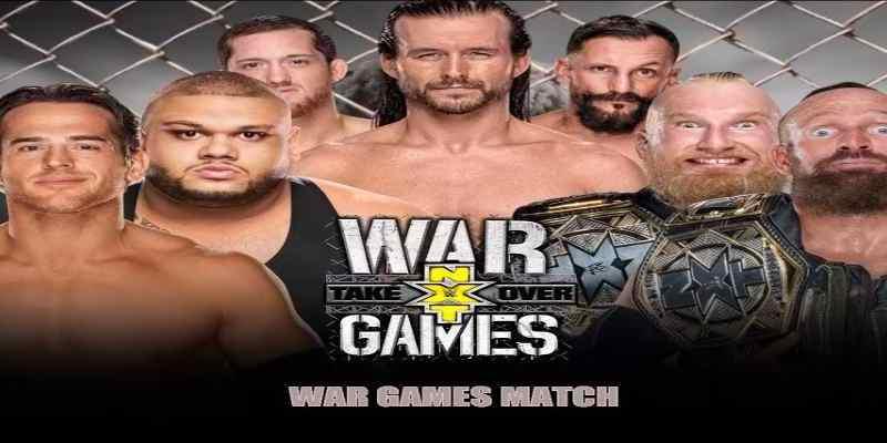 NXT Takeover War Games en vivo