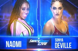 Naomi vs Sonya Deville