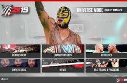 Nuevos detalles del WWE 2k19 Universe Mode, My Career, Campeonatos y más
