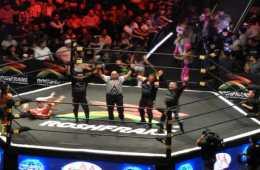 OGT's ganan el lumberjack match en Triplemania XXVI