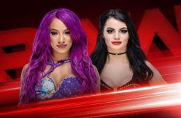 Paige vs Sasha Banks en RAW