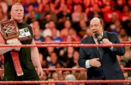 Paul Heyman responde al ultimatum de Kurt Angle a Brock Lesnar en WWE RAW