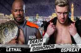 Resultados ROH Death Befeore Dishonor 2018