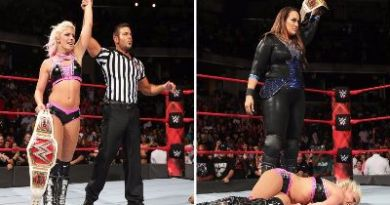Resultados de Monday Night RAW del 28 de agosto