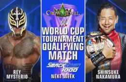 Rey Mysterio optará a estar en la copa del mundo en un combate clasificatorio en Smackdown 1000