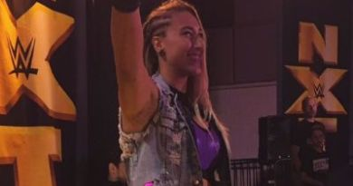 Rhea Ripley ayer en el live show de NXT