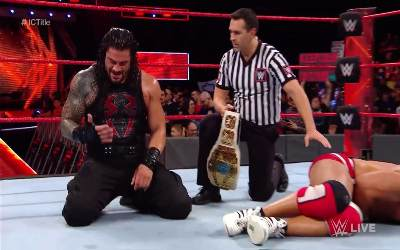 Roman Reigns IC Champion RAW