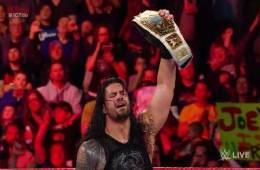 Roman Reigns retuvo el campeonato Intercontinental en RAW