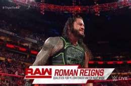 Roman Reigns se clasifica al combate de la semana que viene para ser aspirante al campeonato Universal