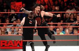 RAW Roman Reigns vs. Kevin Owens