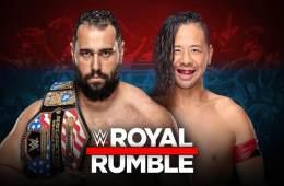 Rusev defenderá el campeonato de los Estados Unidos contra Shinsuke Nakamura en WWE Royal Rumble 2019