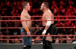 MSQ John Cena VS Samoa Joe