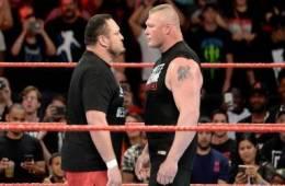 Samoa Joe vs Brock Lesnar Royal Rumble