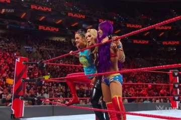 Sasha Banks hace su regreso en Monday Night Raw