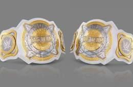 Se muestran los diseños de los campeonatos por parejas femeninos y las primeras campeonas se coronarán en una Elimination Chamber