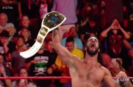 Seth Rollins retiene el campeonato Intercontinental contra Dolph Ziggler en WWE RAW