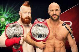Sheamus y Cesaro nuevos campeones por pareja de RAW en Royal Rumble
