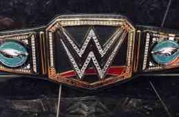 Super Bowl LII Philadelphia Eagles WWE Championship