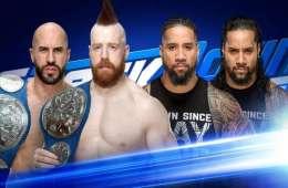 The Usos lucharán por una oportunidad por los campeonatos por parejas de Smackdown Live contra The Bar