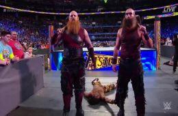 The Blugdeons Brothers intervienen en el combate por parejas en WWE Fastlane