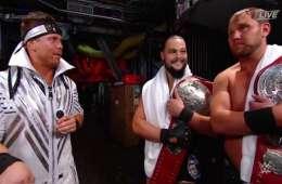 The Miz y The B Team en WWE Summerslam 2018