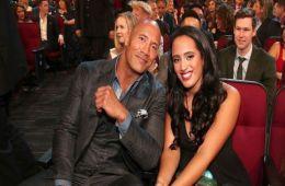 The Rock y su hija Simone