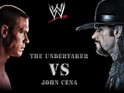 Undertaker regresa para luchar con cena