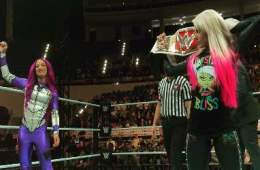 Sasha Banks vs Alexa Bliss WWE Abu Dhabi