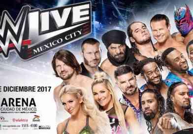Gana dos entradas dobles y pase m&g para WWE Ciudad de México