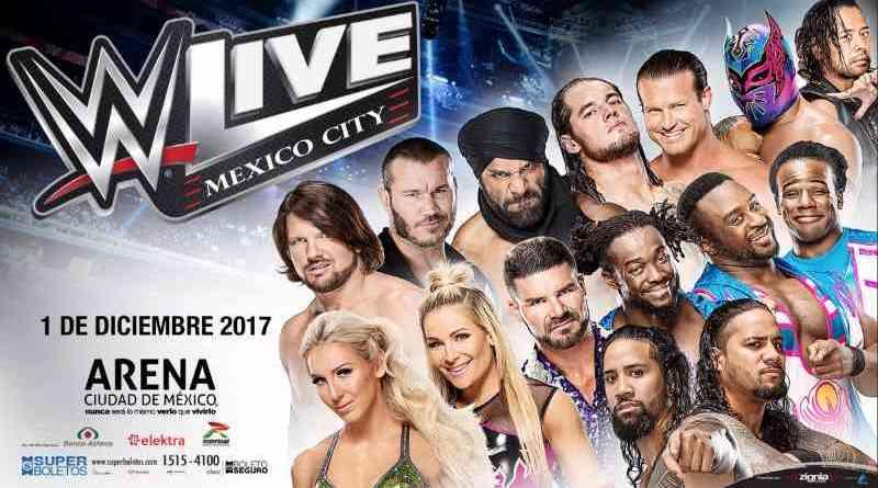 WWE Ciudad de México 2017 WWE México