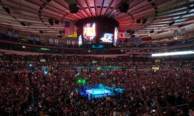 WWE noticias MSG mejor empresa
